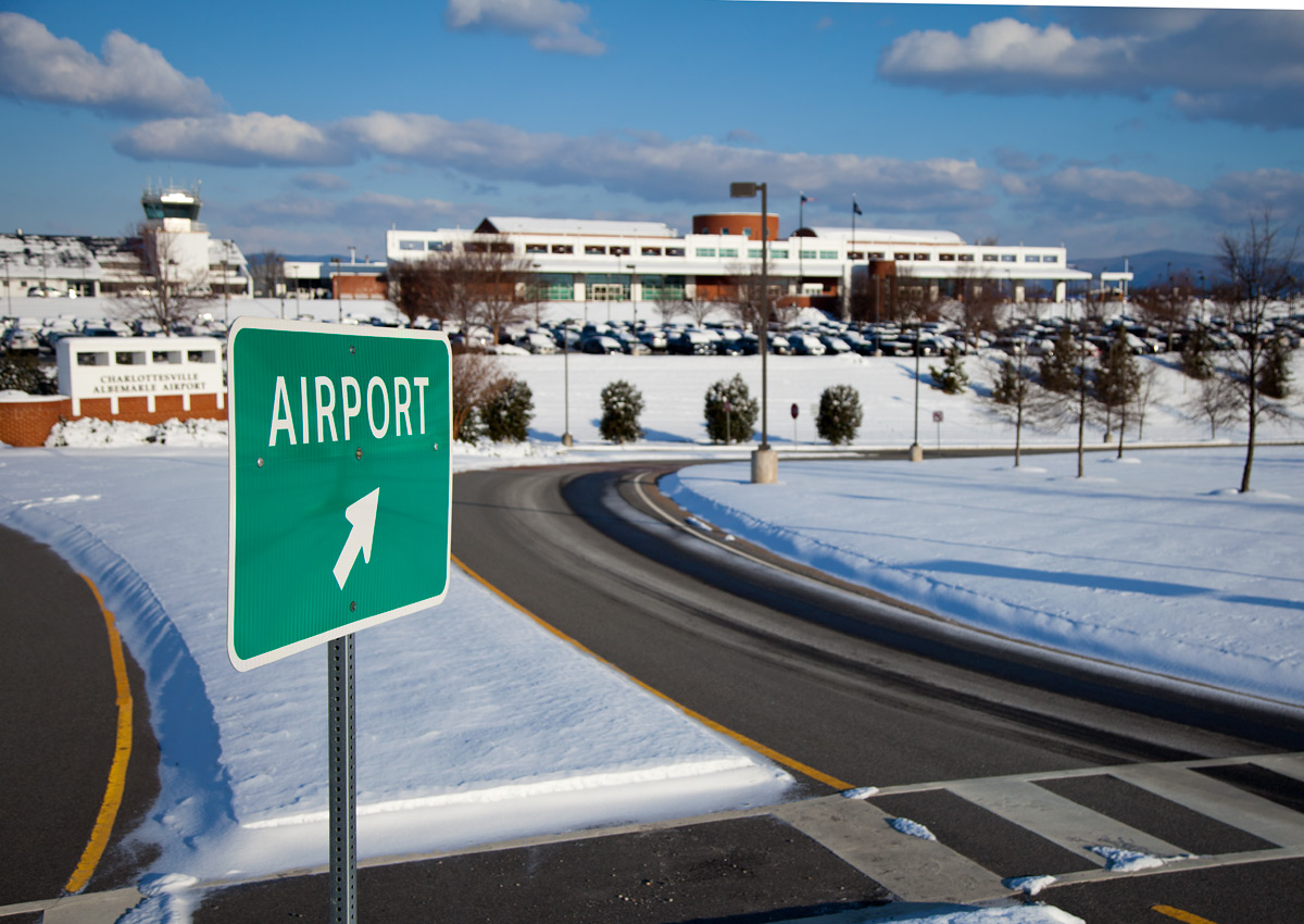 Directions Charlottesville Albemarle Airport